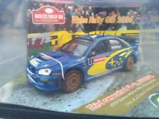 1/43 Subaru Impreza WRC Wales GB 04  Solberg Mills Sealed Rallye by Vitesse