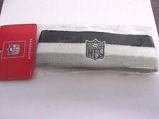 NFL HEAD BAND BLACK,WHITE,GREY *NEW*