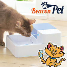 Pet Water Fountain Dog Cat Automatic Electric Drinking Bowl LED Light