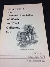 Bulletin of the National Association of Watch and Clock Collectors
