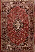 Vintage Floral Hand-Made Ardakan Traditional Wool Area Rug Oriental Carpet 8x12