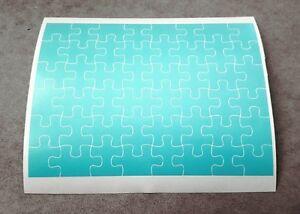 Precut 1/10, 1/8 RC Jigsaw Puzzle Paint Masking Sheet, Body Shell Masks, Stencil