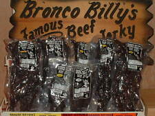 FAMOUS BRONCO BILLY BEEF JERKY 1 lb Four Flavors Available,The Very Best