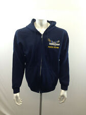 NAAHII RIDGE Men's Large Blue Full Zipper Team Thunderbirds School Cotton Hoodie
