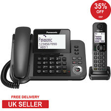 Panasonic KX-TGF320E 2 in1 Corded + DECT Combo Nuisance Call Block Phone