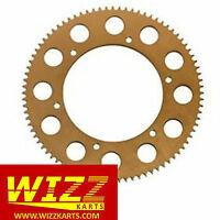 70t High Quality 219 Gold Annodised Alloy Kart Sprocket FREE POSTAGE WIZZ KARTS