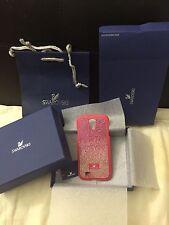 NIB$80 SWAROVSKI Thao Fuchsia Pattern Cell Phone Case Samsung Galaxy S4 Pink
