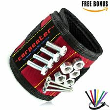 Tool Magnetic Wristband Magnet Wrist Band Holder - Construction tools for men