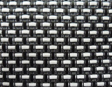 "White/black matrix guitar amp speaker cabinet grill  fabric 21x36"" DIY amp"
