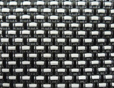 """White  / black matrix Guitar amp & Speaker cab Grill Cloth fabric 21x36"""" DIY amp"""