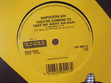 """7"""" Single - NAPOLEON XIV - They´re Coming To Take Me Away Ha-Haa! - UK Old Gold"""