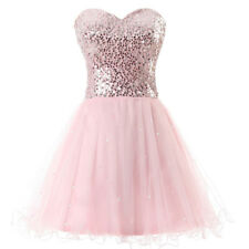 Gold Sequins Short Prom Dresses Cocktail Party Mini Ball Gown Homecoming Dress