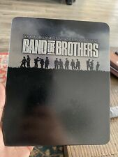 Band of Brothers w/ Limited Tin Case (Blu-ray, 6 Discs) EXTRAS Awesome Series!