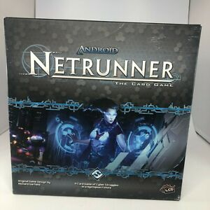 Android Netrunner LCG The Card Game 420+ Total Cards Fantasy Flight Games