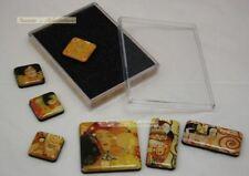 7 verschiedene Magnete Pins in Geschenkbox von GUSTAV KLIMT