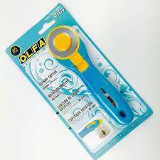 OLFA Rollschneider 45 mm Maxi aqua-blau Rotationsschneider