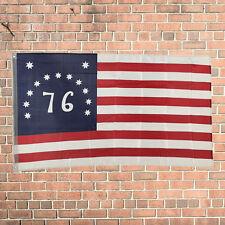 Design 3'x5' Ft Bennington Spirit of '76 American Flag Polyester Brass Grommets