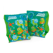 Zoggs Boy's Zoggy Swim Float Bands - Blue/Green, 1-6 Years