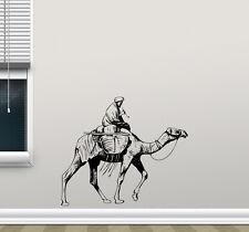 Camel Wall Decal Arabic Bedouin Vinyl Sticker Bedroom Decor Animal Poster 89hor