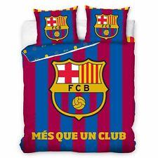 FC BARCELONA MES QUE UN CLUB DOUBLE DUVET COVER SET EUROPEAN SIZE 100% COTTON