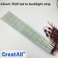 10pcs/lot 42inch  LED Aluminum Plate edge Strip Backlight Lamps Update for led