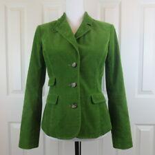LILLY PULITZER Women's Green Corduroy Blazer Jacket- Size 2 Retails $188
