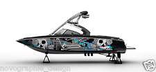 !LBRK GRAPHIC KIT DECAL BOAT SPEEDSTER WRAP SEADOO WAKE BOARD SPORTSTER