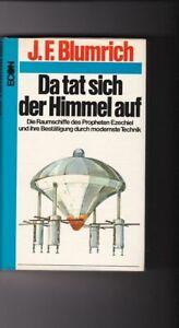 Josef F. Blumrich, Da tat sich der Himmel auf / Raumschiffe Ezechiel Hesekiel Bl