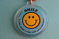 SMILE (It Makes People Wonder What You've Been Up To) Keyring Keychain