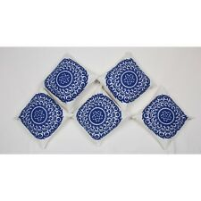 Suzani Embroiderd Wool Thread Cotton Cushion Cover Pillow Case 5 PC Set