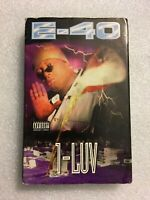 E-40 1-LUV SINGLE CASSETTE TAPE