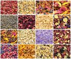 Edible Dried Flowers & Petals 62+ Types! Tea Cooking Gin Tonic Coctail Garnishes