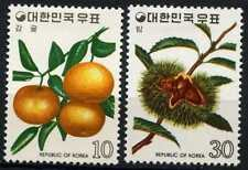 South Korea 1974 SG#1143-4 Fruits MH Set #D60724