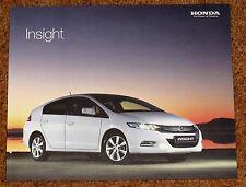 2009 Honda Insight folleto de ventas-perfecto Estado - 1.3 es-T es se S