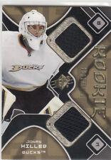2007-08 SPx #181 Jonas HILLER JSY  RC  Anaheim Ducks