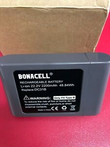 Bonacell Replacement for Dyson DYC341VX 22.8V 2000mAh Li-ion Battery TYPE B