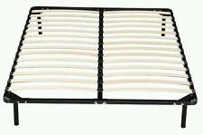 Double Metal  Bed Frame wooden slat metal bed frame base black bedroom furniture
