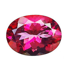 EYE-CATCHING 15.60 CT OVAL FACET (18X13 MM) 100% NATURAL PINK TOPAZ GEMSTONE
