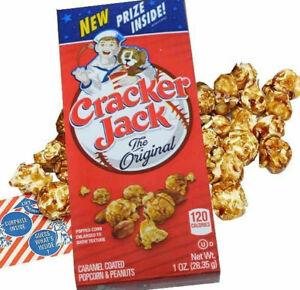 12Pk Cracker Jack 1 oz. Boxes Caramel Coated Popcorn & Peanuts ~FAST FREE SHIP !