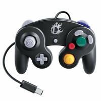 Used Nintendo Super Smash Bros Gamecube Controller Black Wii U Japan F/S SBB24
