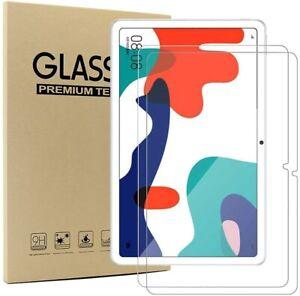 "2 x HD Tempered Glass Screen Protector for Huawei MatePad 10.4"" 2020 BAH3-AL00"
