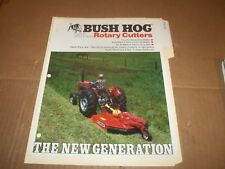 PY105) Bush Hog Sales Brochure 4 Pages - 250 Series Rotary Cutters