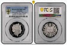 2019 Proof 50c Fifty Cents Coat Of Arms / IRB Effigy PCGS PR70 DCAM