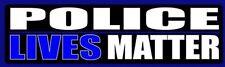 POLICE LIVES MATTER Bumper Sticker for cars trucks conservative political