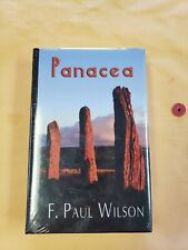 PANACEA F. Paul Wilson SIGNED Limited Edition New In Shrinkwrap