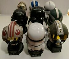 Star Wars Prop by Master Replicas Lot of 9 0.45 Scaled Helmets