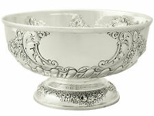 Sterling Silver Presentation Bowl by Robert Pringle & Sons - Antique Edwardian