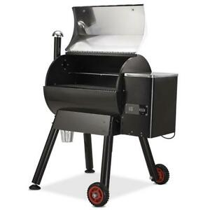 SÄKEE Hopper Quick-Clear Electric Pellet Grill, 7 in 1 Pellet Smoker 795 sq