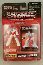 Transformers Heroes of Cybertron Generation One Collection AUTOBOT RATCHET 2003
