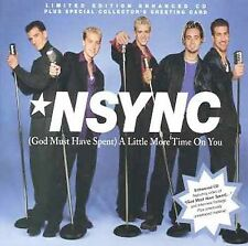 God Must Have Spent a Little More Time on You [Single] by *NSYNC (CD, Feb-199...